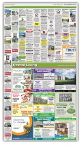 Real estate section paper