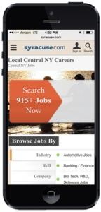 Recruitment page mobile