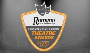 Romano Auto Dealerships Syracuse High School Theater Awards