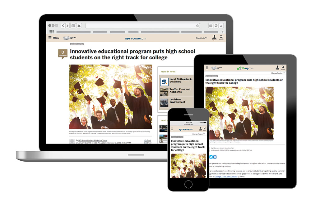 native advertising example