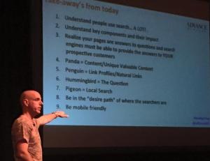 Digital Marketing Boot Camp 2015 Session