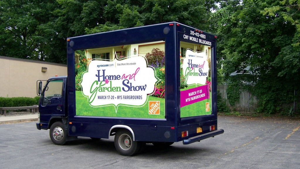 Home & Garden Vehicle Billboard