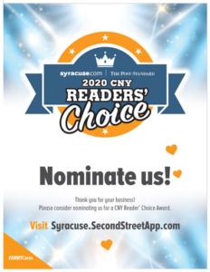 CNY Readers' Choice Nominate