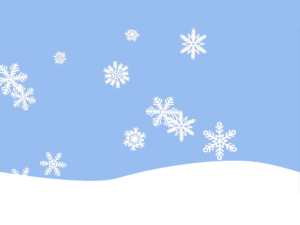 Snow Hope for the Holidays background